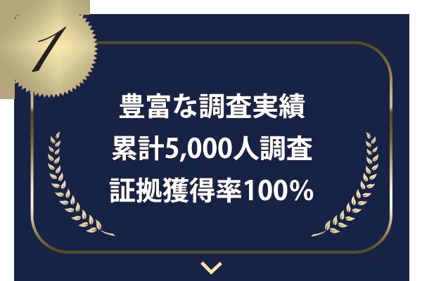 横浜の探偵【あるく探偵調査室】が 選ばれるポイント 調査実績豊富 累計5000人調査 証拠獲得率100% サブ:保証